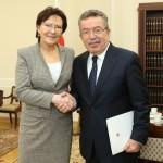 Spotkanie marszałek Sejmu z ambasadorem Turcji