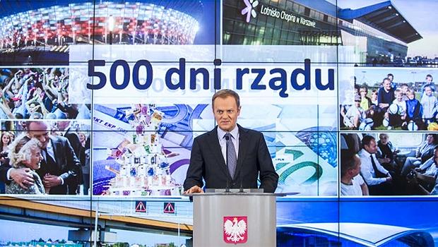 500 dni rządu